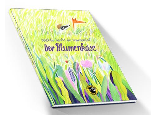 Detektiv-Dachs im Emmental Blumenkäse Buch Band 2