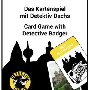 Kartenspiel MyCityHighlight - Detektiv-Dachs