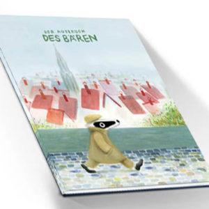 """Detektiv-Dachs Buch """"Ausbruch des Bären"""""""
