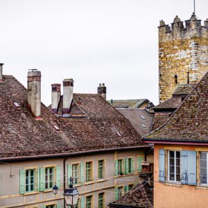 Crime-Trail Neuchâtel: Chute mortelle du balcon à Neuchâtel